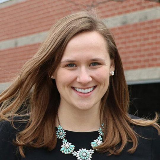 Headshot of Lindsay Sutherland-Gvakharia