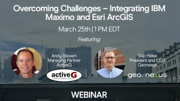 Overcoming Challenges - Integrating IBM Maximo and Esri ArcGIS